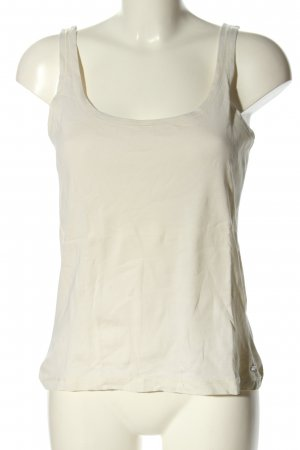 Marc O'Polo Basic topje wolwit casual uitstraling
