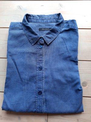 Marc O'Polo Blouse à manches longues bleu coton