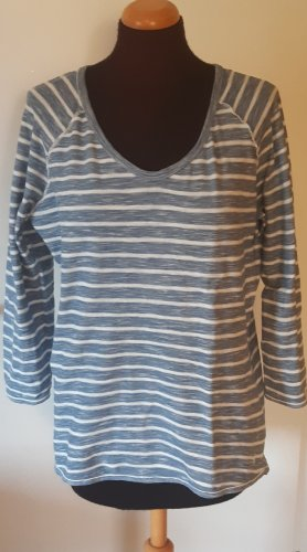 Marc O'Polo Stripe Shirt light blue-white cotton