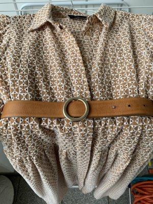 Marc O'Polo Cinturón de cuero camel-naranja claro