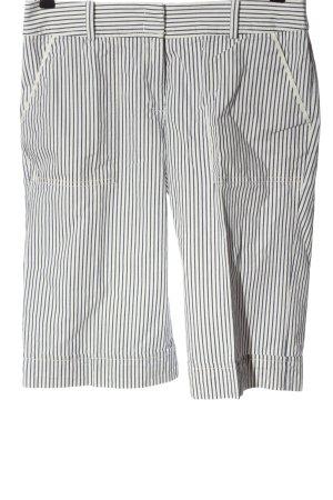 Marc O'Polo Bermuda schwarz-weiß Streifenmuster Casual-Look