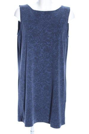 Marc O'Polo Robe crayon bleu motif de fleur style décontracté