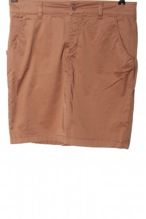 Marc O'Polo Falda de tubo marrón look casual