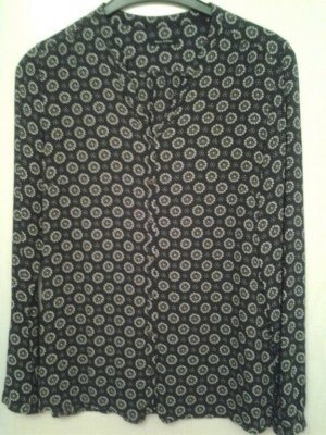 Marc O'Polo Blusa de manga larga gris antracita-blanco Viscosa