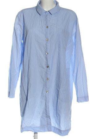 Marc O'Polo Abito blusa blu-bianco motivo a righe stile casual