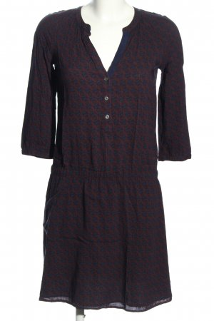 Marc O'Polo Blusenkleid Allover-Druck Casual-Look