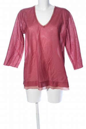 Marc O'Polo Blusentop pink Casual-Look