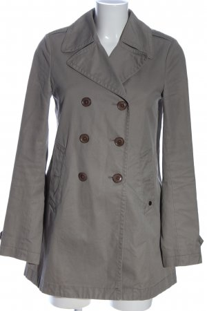 Marc O'Polo Cabanjacke hellgrau Casual-Look