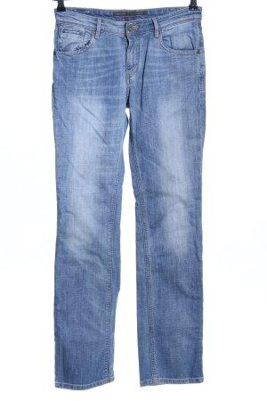 Marc O'Polo Boot Cut Jeans blau Casual-Look