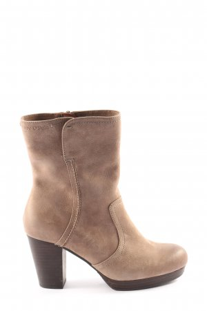 Marc O'Polo Booties wollweiß Business-Look