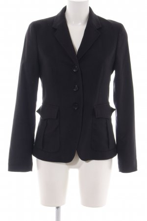 Marc O'Polo Boyfriend-Blazer schwarz Casual-Look