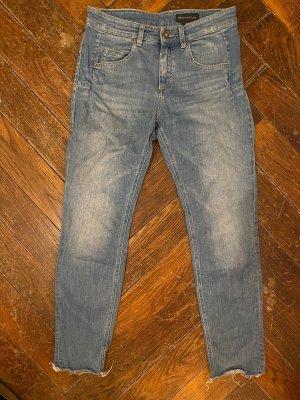 Marc O'Polo Boyfriend Jeans azure-cornflower blue cotton
