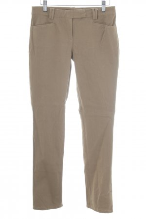 Marc O'Polo Bundfaltenhose hellbraun Casual-Look