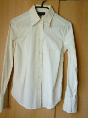 MARC O POLO Business-Bluse, Baumwoll-Stretch, ecru, Gr. 34/36