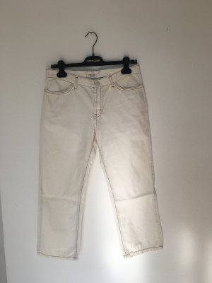 Campus by Marc O'Polo Five-Pocket Trousers natural white cotton