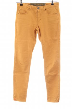 Campus by Marc O'Polo Pantalon cigarette orange doré-jaune foncé coton