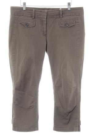 Marc O'Polo Pantalone Capri cachi stile safari