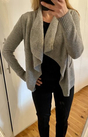 Marc O'Polo Knitted Wrap Cardigan light grey-grey