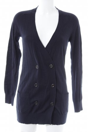 Marc O'Polo Cardigan dunkelblau Casual-Look