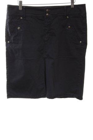 Marc O'Polo Spódnica militarna czarny W stylu casual