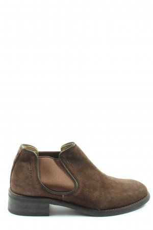 Marc O'Polo Chelsea Boots braun Business-Look