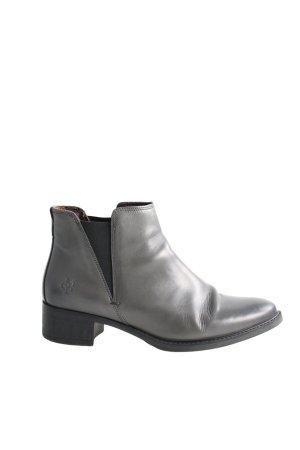 Marc O'Polo Chelsea Boots hellgrau Business-Look