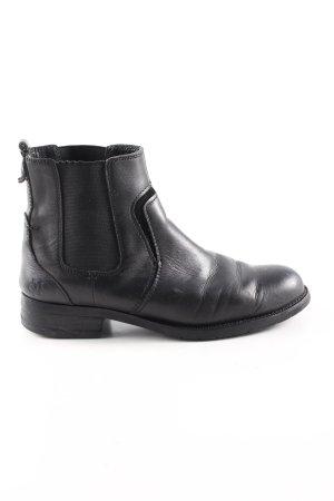 Marc O'Polo Chelsea laarzen zwart casual uitstraling