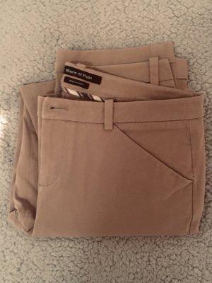 Marc O'Polo Pantalone chino beige-color cammello