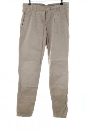 Marc O'Polo Chinohose silberfarben Casual-Look