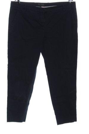 Marc O'Polo Pantalone chino blu motivo a righe stile casual