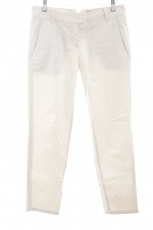 Marc O'Polo Chinohose wollweiß Casual-Look