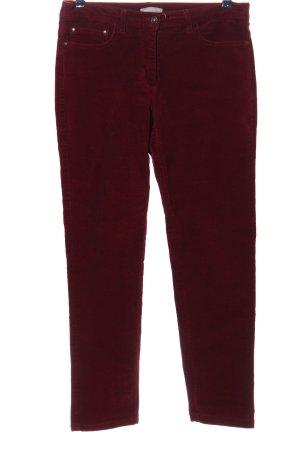 Marc O'Polo Pantalón de pana rojo look casual