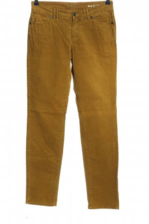 Marc O'Polo Pantalón de pana naranja claro look casual