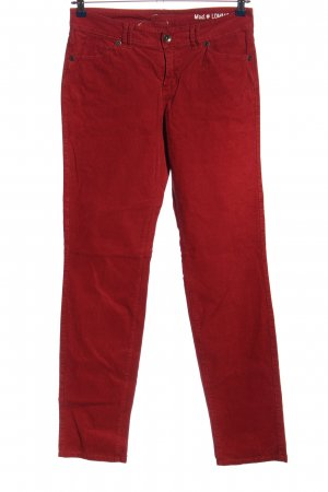 Marc O'Polo Cordhose rot Casual-Look