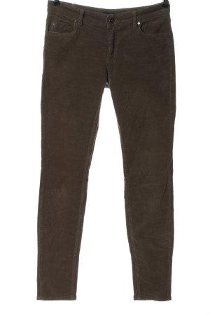 Marc O'Polo Corduroy broek bruin casual uitstraling