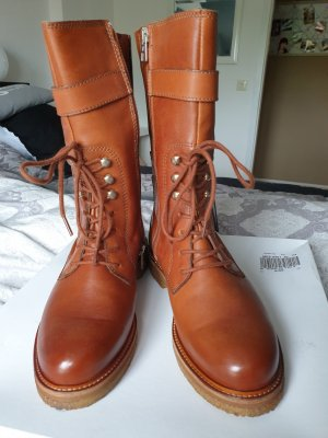 Marc O'Polo Winter Boots brown leather