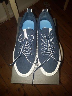 Marc O'Polo Sznurowane buty biały-ciemnoniebieski
