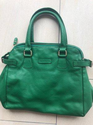 Marc O'Polo Damentasche grün leder