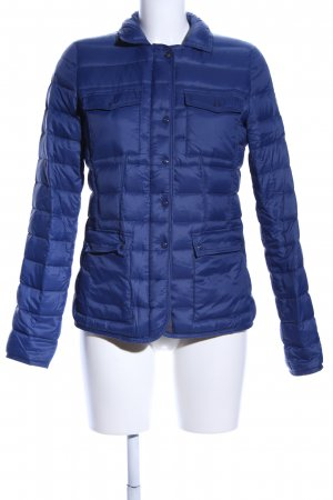 Marc O'Polo Daunenjacke blau Steppmuster Casual-Look