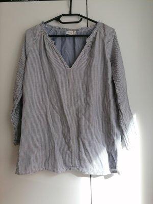 Marc O´Polo Denim Bluse XS 34 Tunika blau weiß gestreift