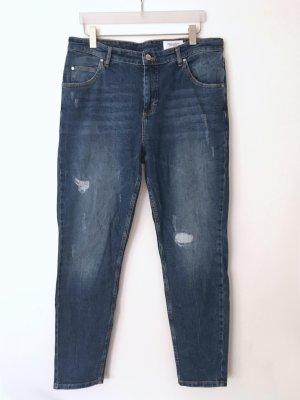 Marc O'Polo Boyfriend jeans blauw Katoen