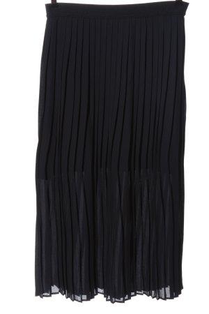 Marc O'Polo DENIM Falda plisada negro look casual