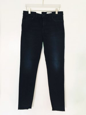 Marc O'Polo Hoge taille jeans donkerblauw Gemengd weefsel