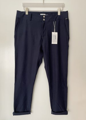 Marc O'Polo DENIM Pantalone fitness blu scuro Cotone