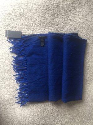Marc O'Polo Bufanda de lana azul-azul oscuro Lana