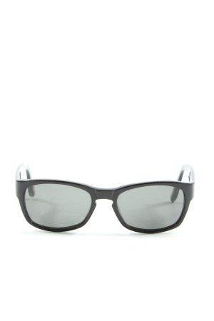Marc O'Polo Occhiale da sole spigoloso nero Stampa a tema stile casual