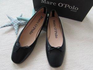 Marc O'Polo * Edle Leder Ballerinas * dunkelblau * 40 wNEU