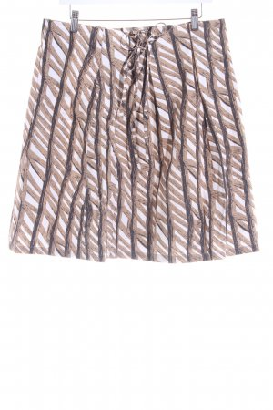 Marc O'Polo Plaid Skirt abstract pattern casual look