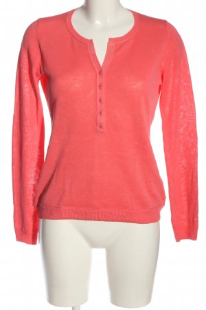 Marc O'Polo Feinstrickpullover rot Casual-Look