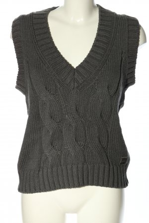 Marc O'Polo Fine Knitted Cardigan black cable stitch casual look
